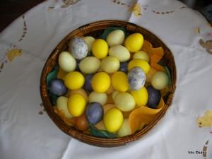 Sabo: Bastelidee Eier natürlich färben