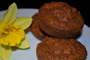 Michaela: Backidee Kokos-Möhren-Muffins