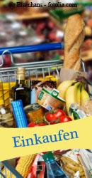 Blogparade: Lebensmittel einkaufen
