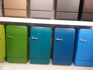 Retro Charme: Kühlgeräte In Angesagten Farben