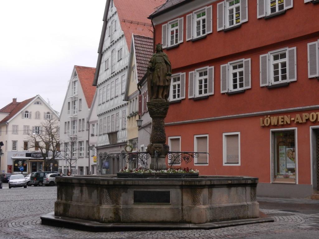 Brunnen in der Reutlinger Innenstadt