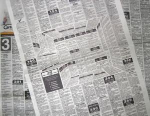 Küche auf den zweiten Blick – Zeitungsanzeige mit ...