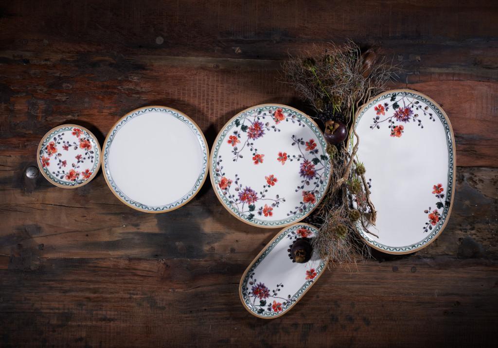 Romantisches Porzellan Geschirr Artesano Provençal Verdure von V&B