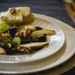 Traubensalat mit Birnen und Nüssen von Immer Wieder Sonntags