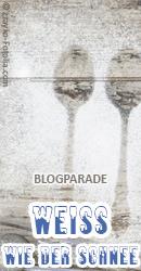 Banner Blogparade Weiß wie der Schnee