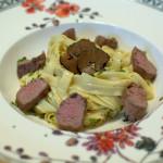 Tagliatelle mit Lammfilet und Trüffel von Katha kocht
