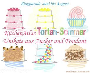 All Summer Long! Der KüchenAtlas Torten-Sommer - Unikate aus Zucker & Fondant
