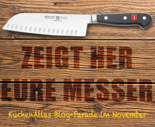 Zeigt her Eure Messer? Blogparade im November